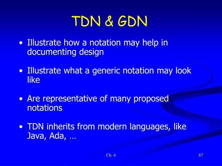 TDN & GDN