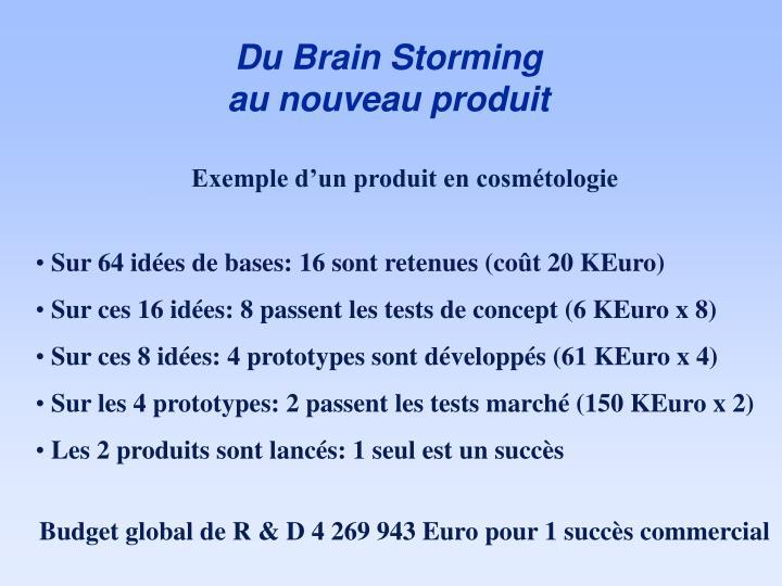 Du Brain Storming