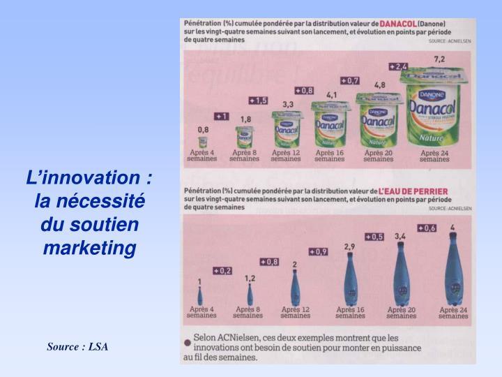 L'innovation :