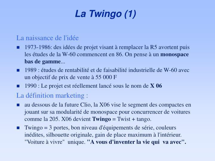 La Twingo (1)