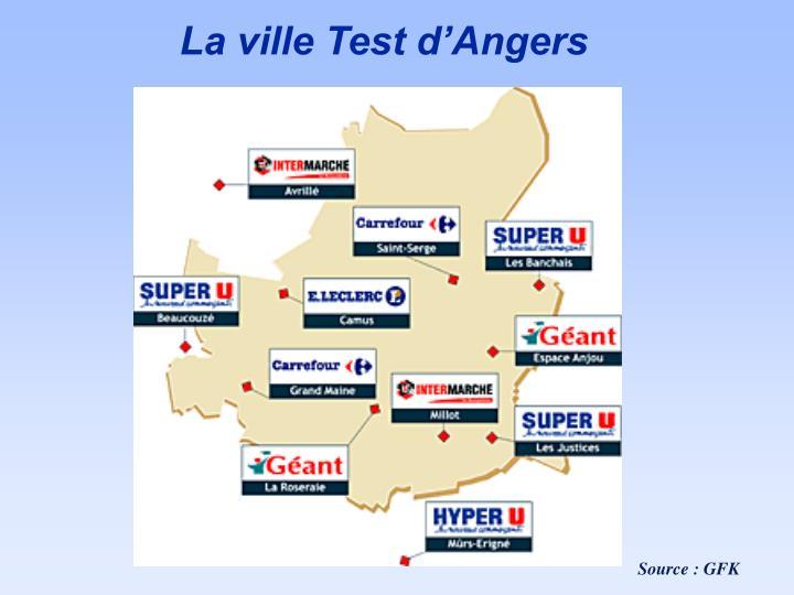 La ville Test d'Angers