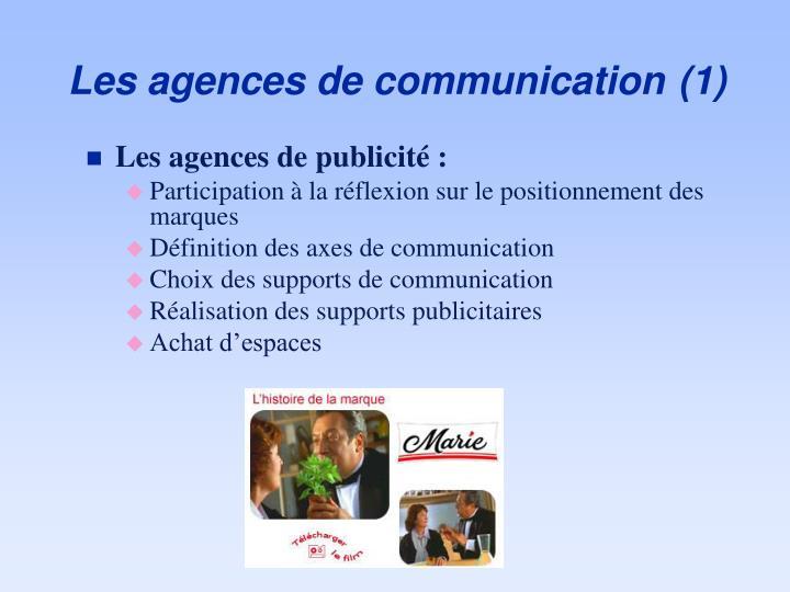 Les agences de communication