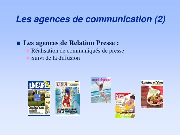 Les agences de communication (2)