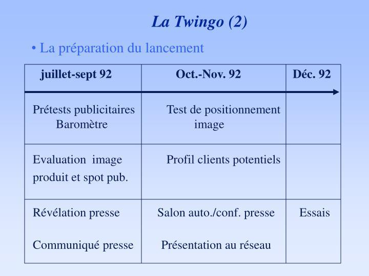 La Twingo (2)