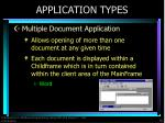 application types2