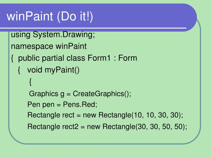 winPaint (Do it!)