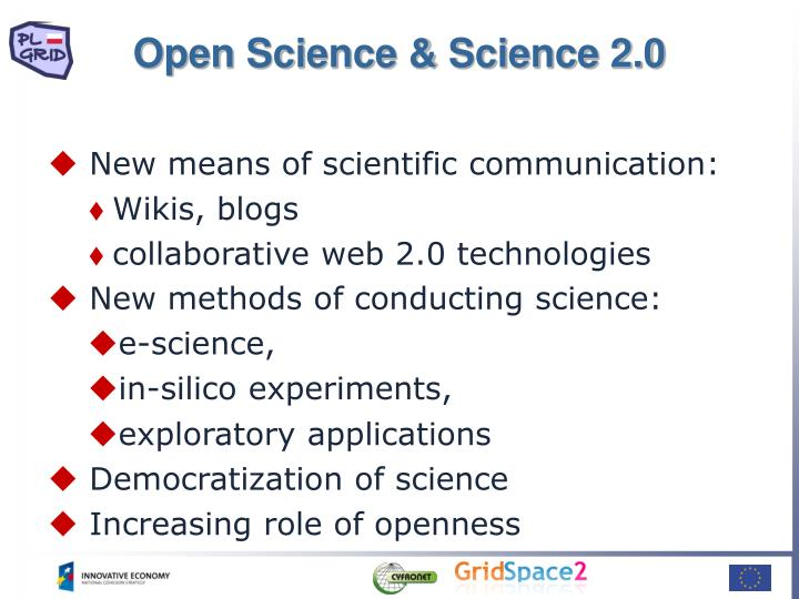 Open Science & Science 2.0