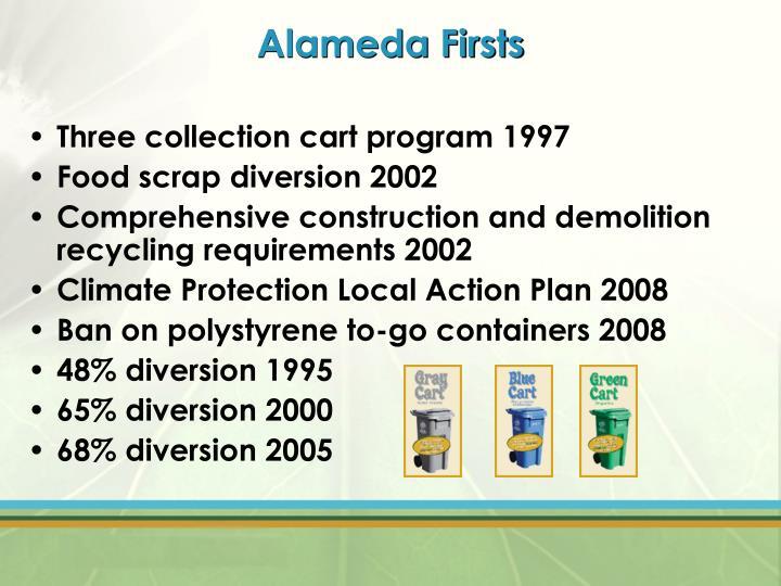 Alameda Firsts