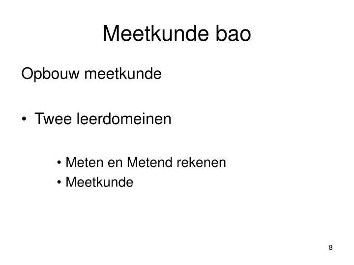 Meetkunde bao