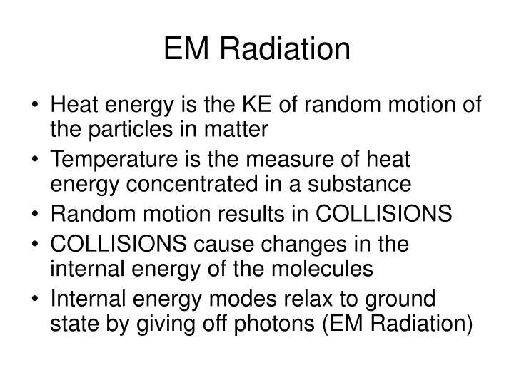 EM Radiation