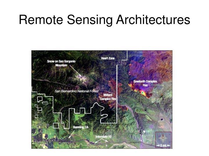 Remote Sensing Architectures