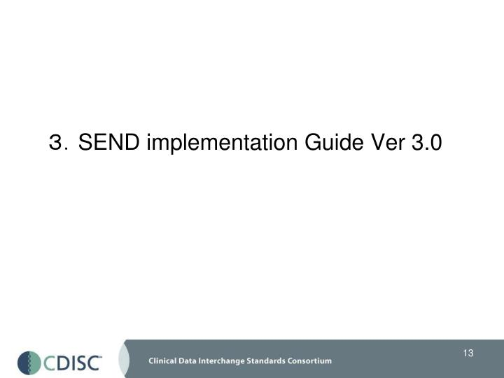 3.SEND implementation Guide Ver 3.0