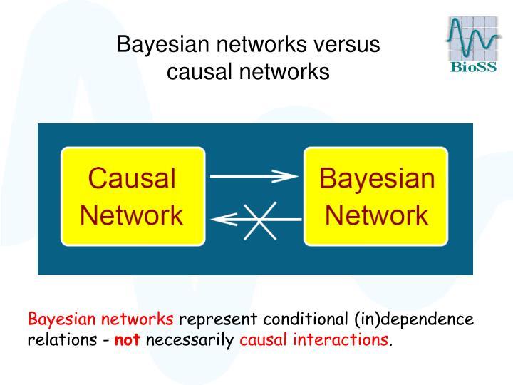 Bayesian networks versus