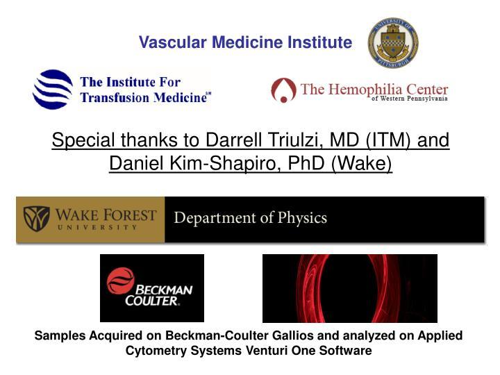 Vascular Medicine Institute