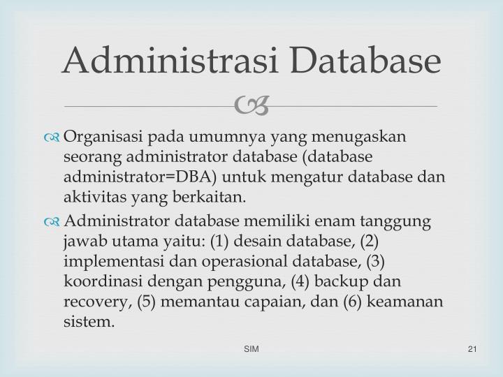 Administrasi