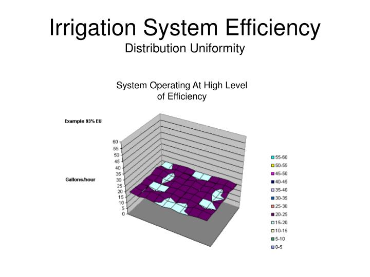 Irrigation System Efficiency