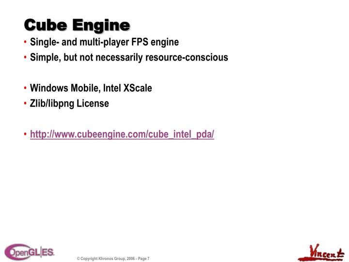 Cube Engine