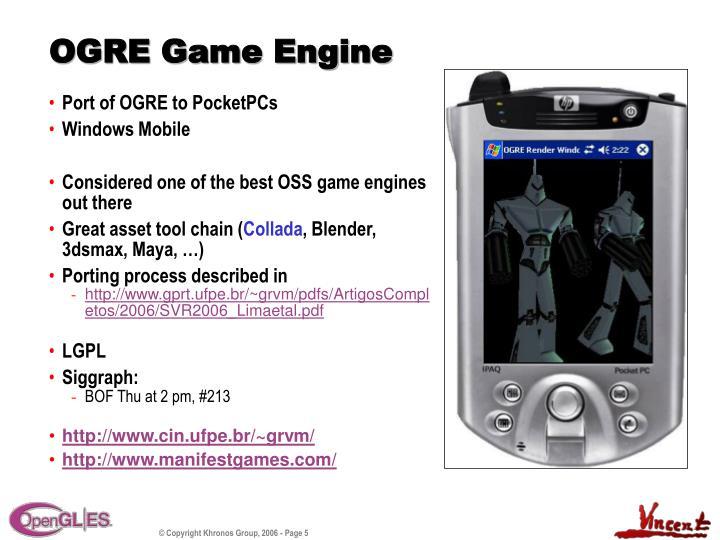 OGRE Game Engine