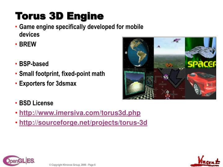 Torus 3D Engine