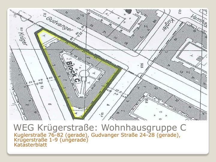 WEG Krügerstraße: Wohnhausgruppe