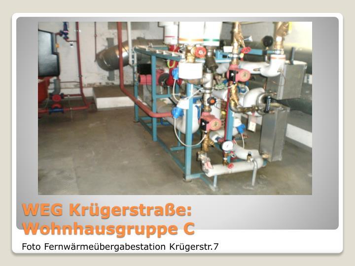 WEG Krügerstraße: Wohnhausgruppe C