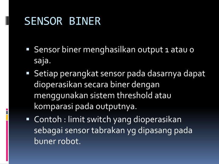 SENSOR BINER