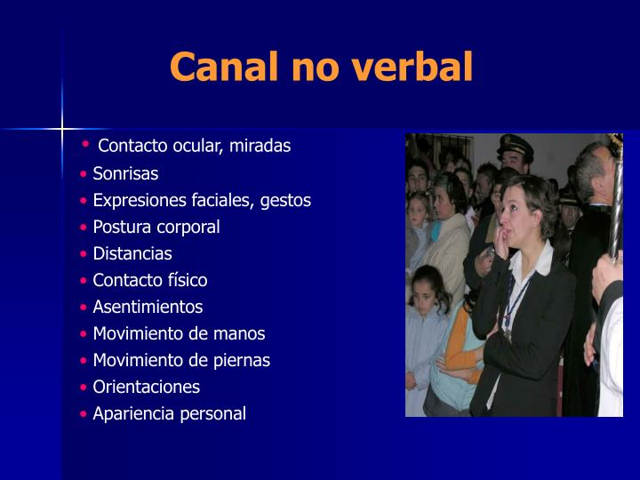 Canal no verbal