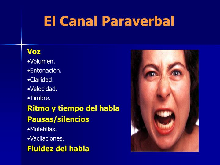 El Canal Paraverbal