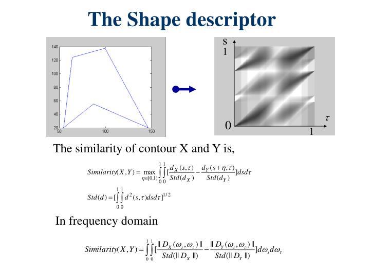 The Shape descriptor