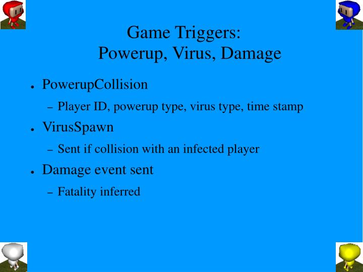 Game Triggers: