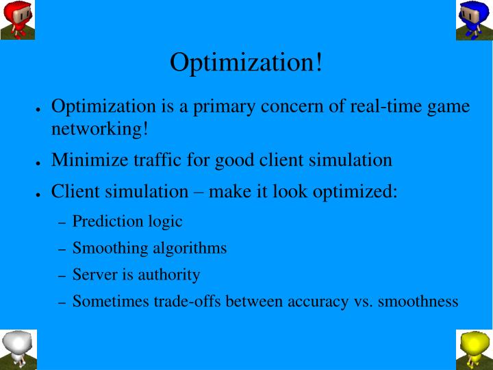 Optimization!