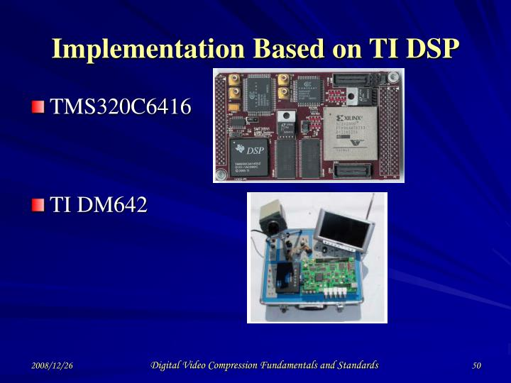 Implementation Based on TI DSP