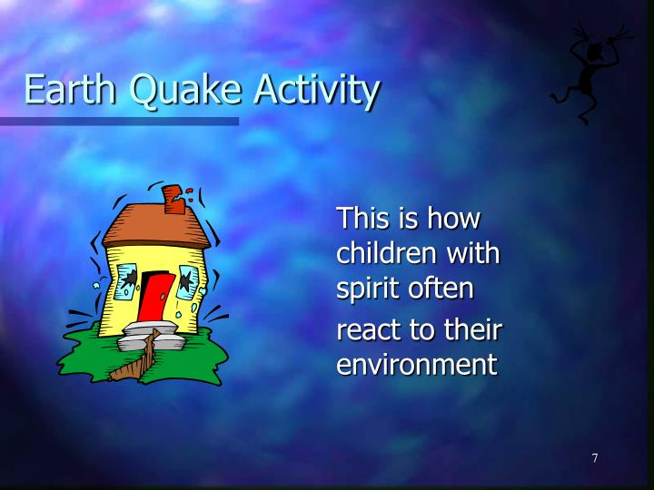 Earth Quake Activity