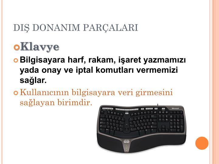 DIŞ DONANIM PARÇALARI