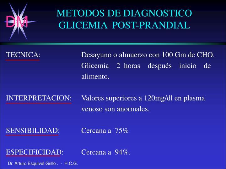 METODOS DE DIAGNOSTICO
