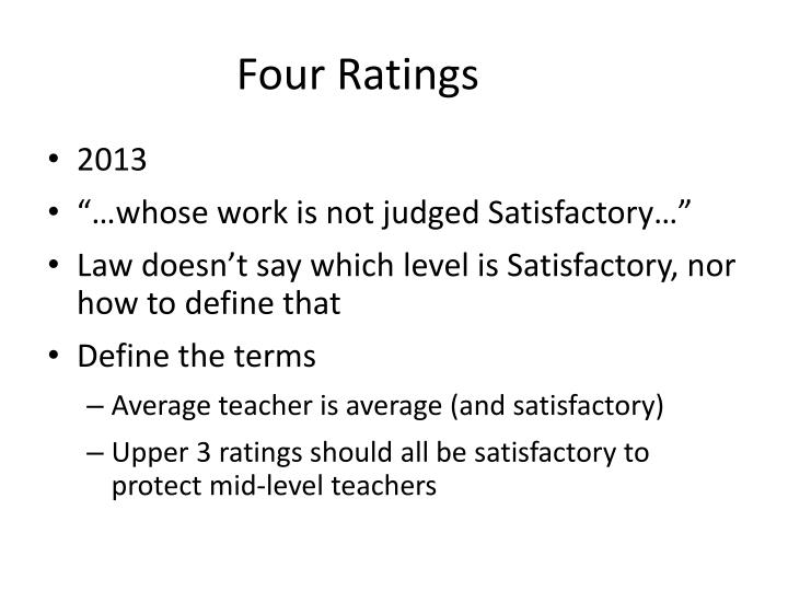 Four Ratings