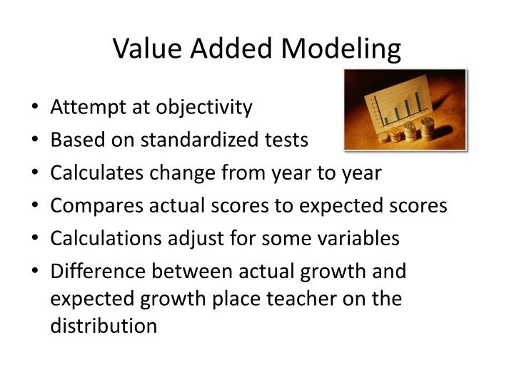 Value Added Modeling