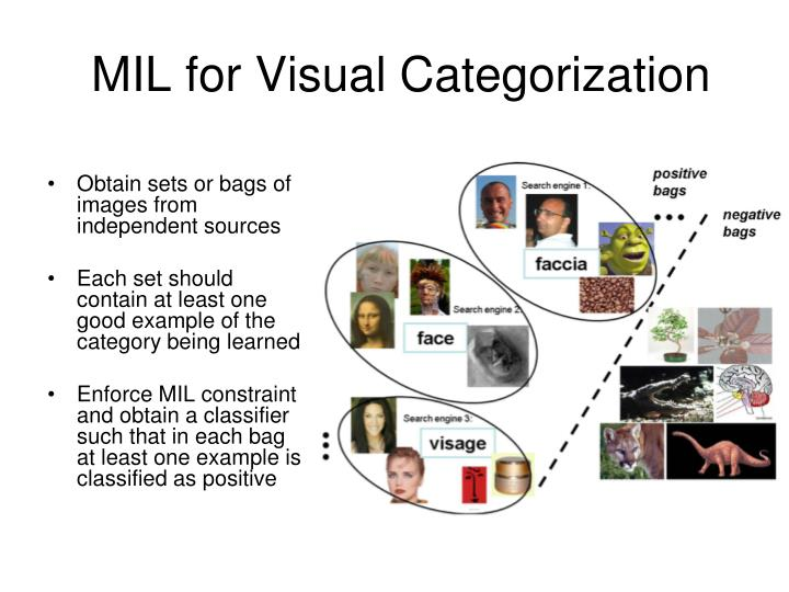 MIL for Visual Categorization