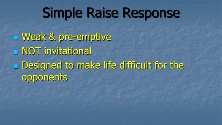 Simple Raise Response
