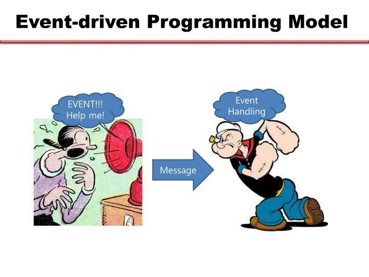 Event-driven Programming Model