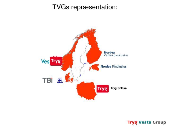 TVGs repræsentation: