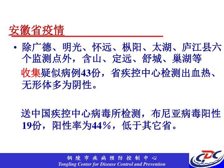 安徽省疫情
