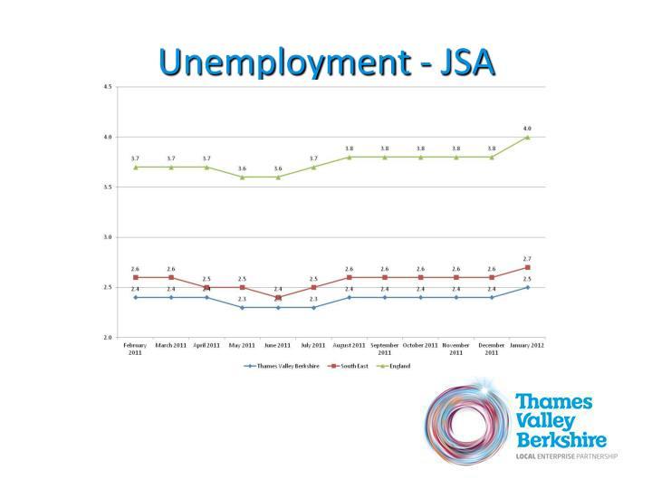Unemployment - JSA