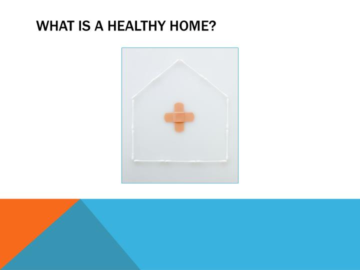 What is a healthy home?