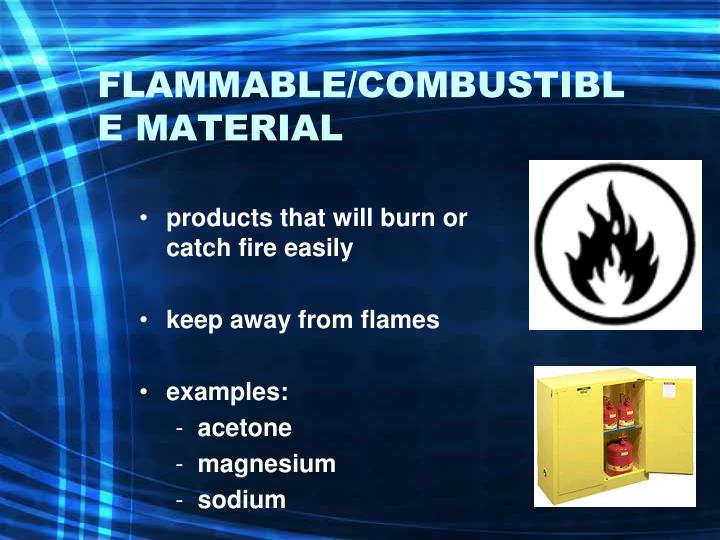 Buy Spontaneously Combustible Labels (4.2 labels) Directly ... |Combustible Materials Examples