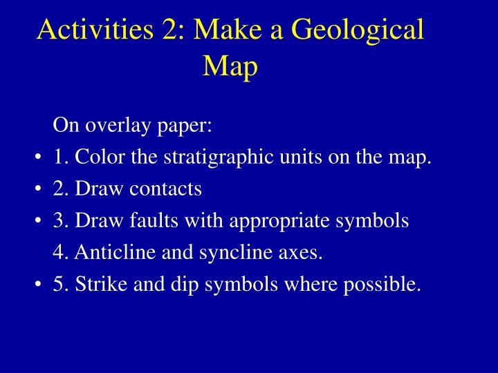 Activities 2: