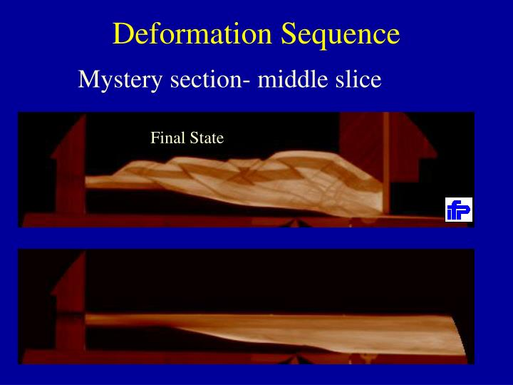 Deformation Sequence
