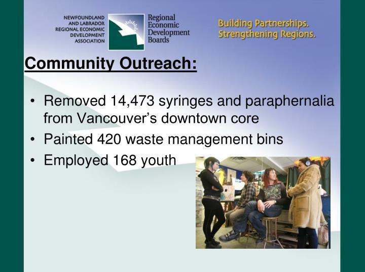 Community Outreach: