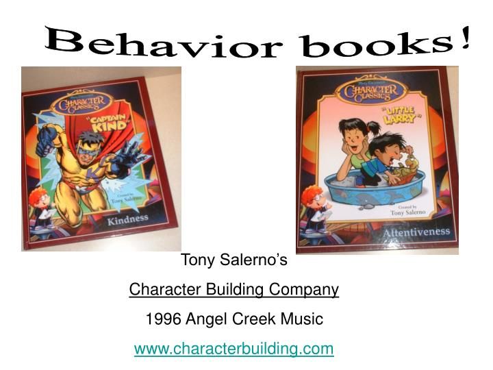 Behavior books!