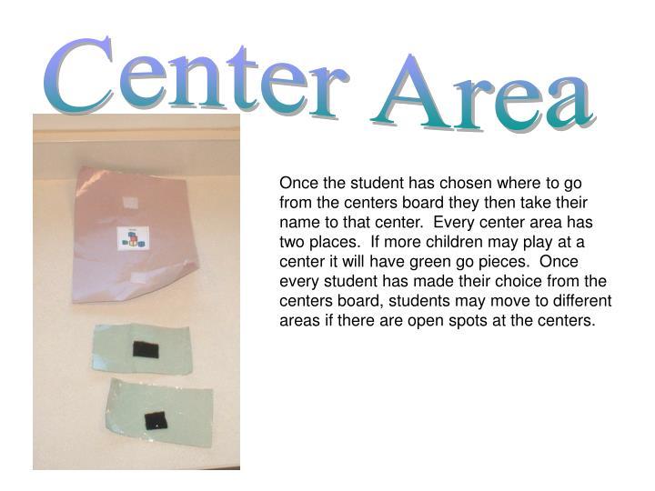 Center Area